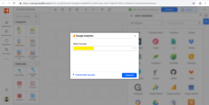 Google Analytics Connection wizard for YouTube Dashboards