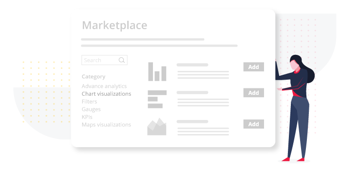Product - Marketplace - For Extended features.