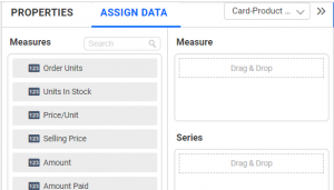 Number card assign data section