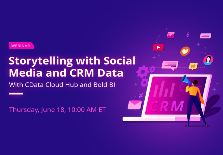 Announcing Storytelling with Social Media and CRM Data Webinar - Bold BI