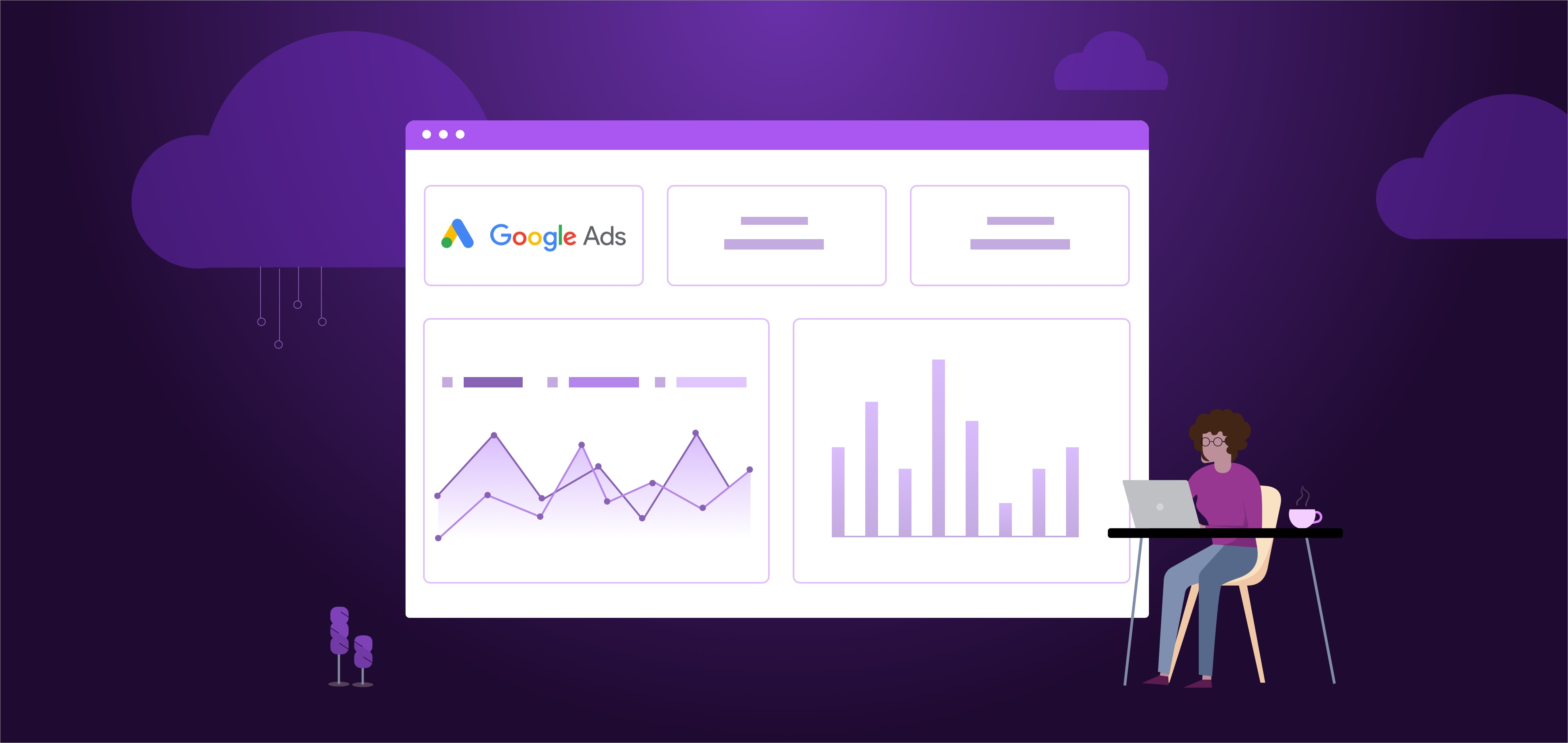Monitoring Ad Performance in a Google Ads Dashboard