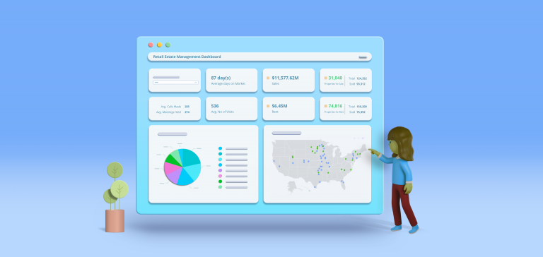 Monitoring a Real Estate Business and Market Trends | Bold BI