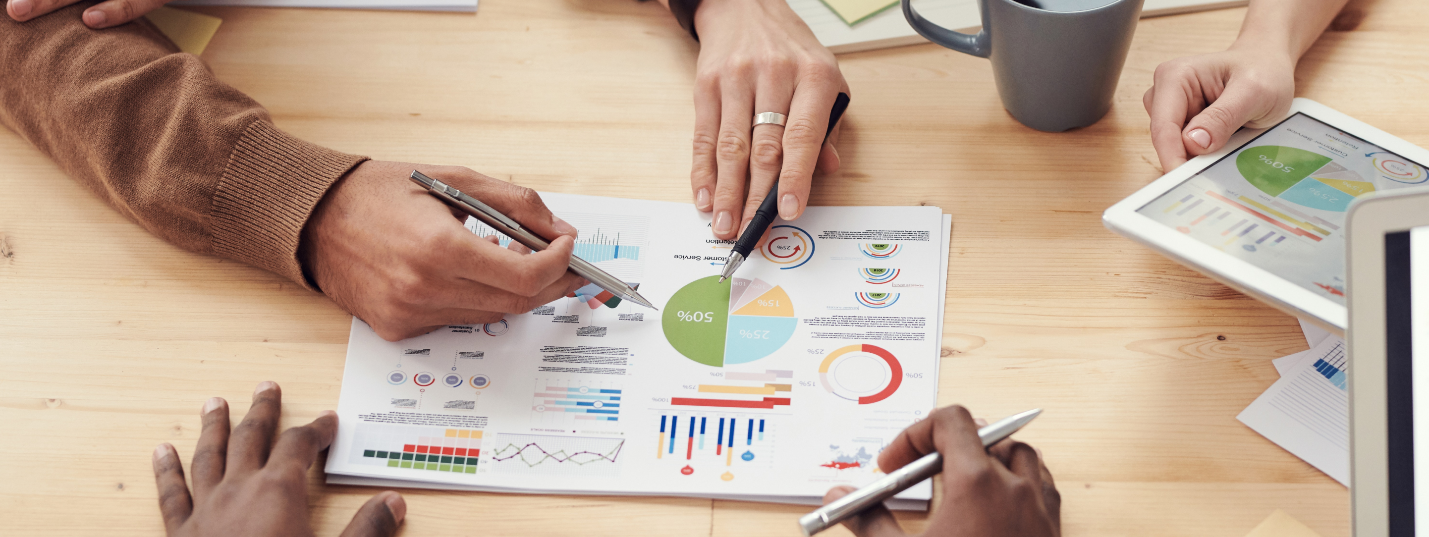 Improved operational reporting and analytic capabilities