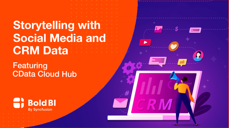 Storytelling with Social Media and CRM Data in Cloud BI