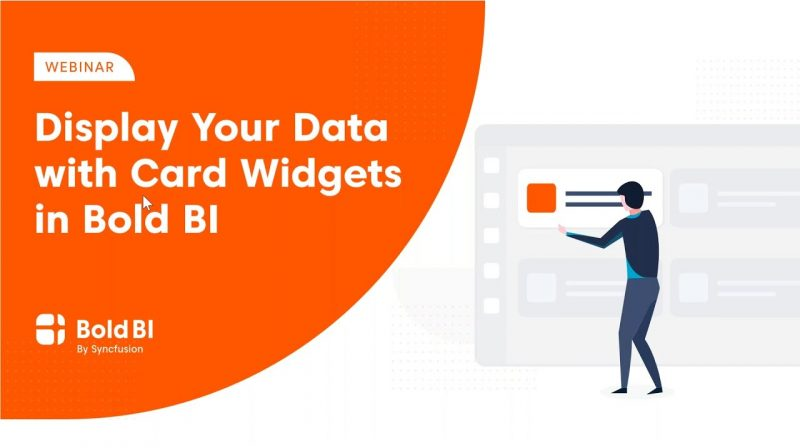 Display Your Data with Card Widgets in Enterprise BI